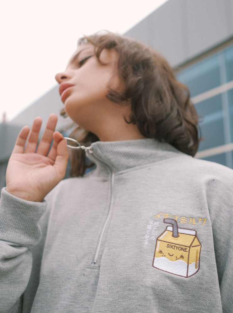 Freya Milk Sweatshirt