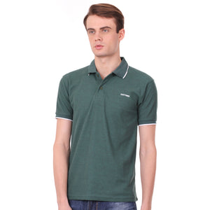 Number 61 Signature Polo in Green