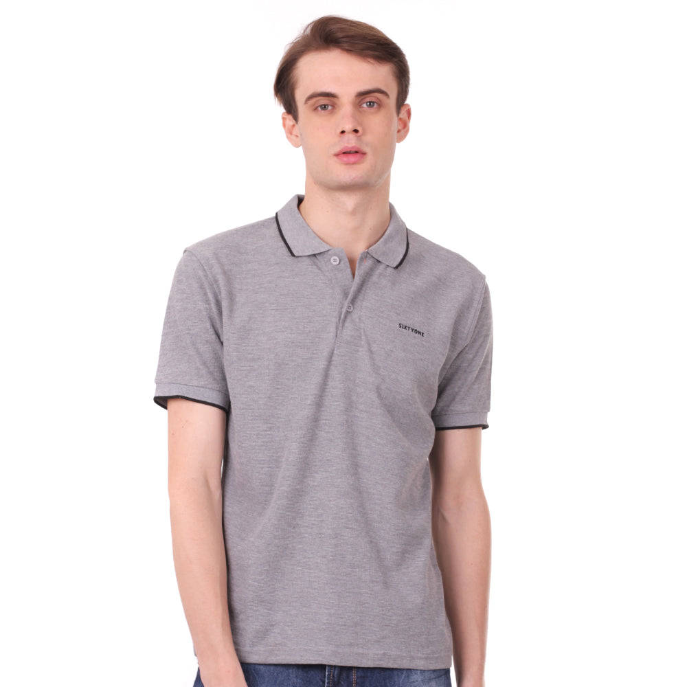 Load image into Gallery viewer, Number 61 Signature Polo in Grey