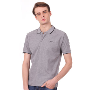 Number 61 Signature Polo in Light Grey