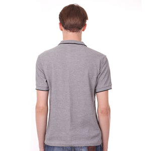 Load image into Gallery viewer, Number 61 Signature Polo in Light Grey