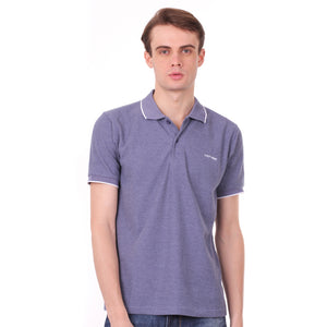 Number 61 Signature Polo in Light Blue