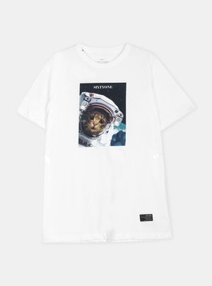 Load image into Gallery viewer, Zavier Cat Astronaut Tshirt