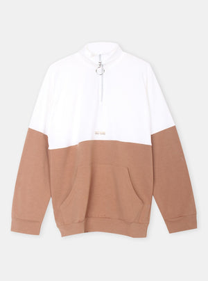 Load image into Gallery viewer, Theria Two Tone Sweatshirt