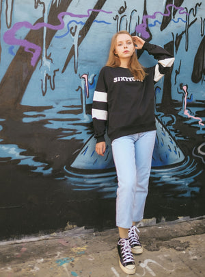 Lettice Linch Sweatshirt In Black