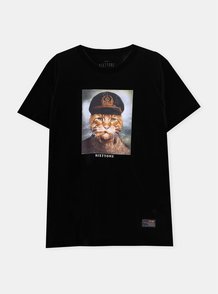 Load image into Gallery viewer, Russel Dax Cat Tshirt