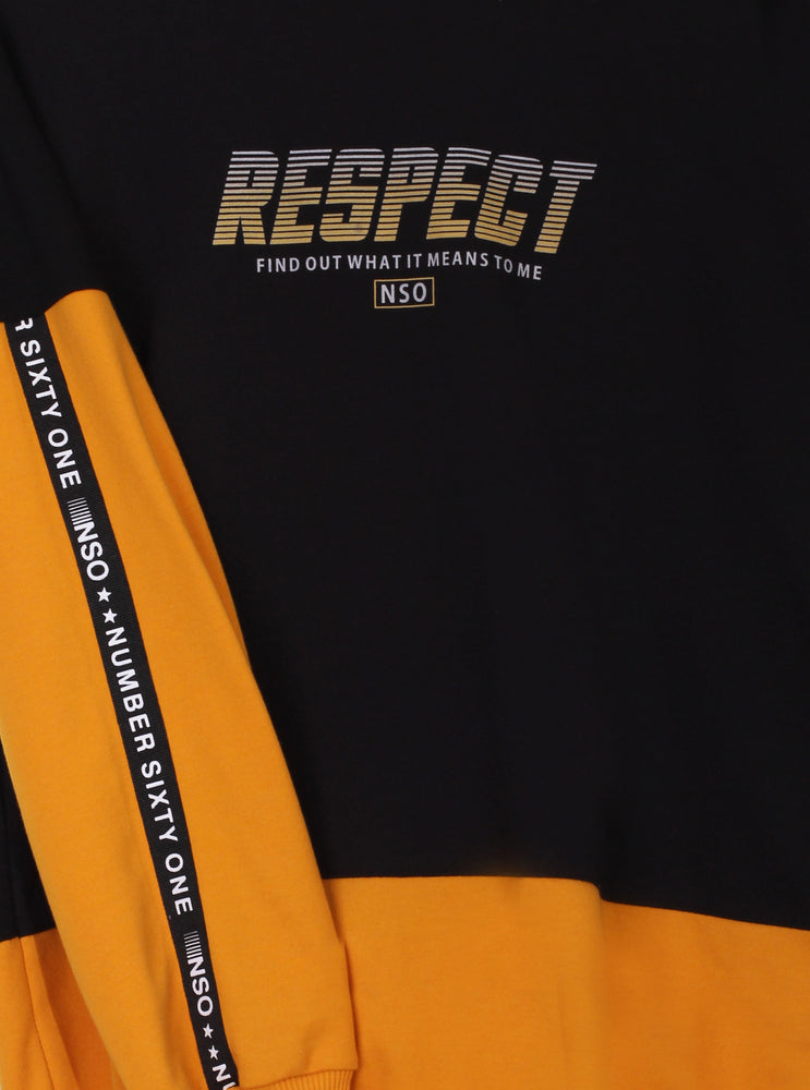 Number 61 - Perkin Respect Lad Sweater