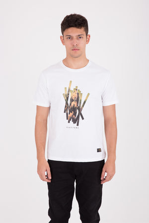 Monalisa Grafitti White T-shirt