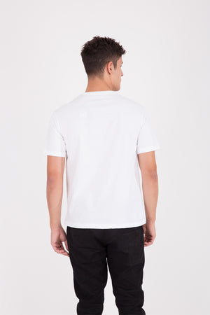 Load image into Gallery viewer, 61 Bikin Laper Cane Beef White T-shirt