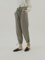 Bianda Checkered Grey Pants