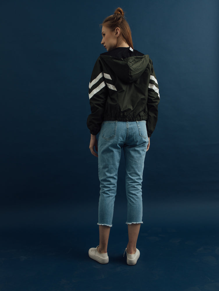 Load image into Gallery viewer, Line Bomber Jacket