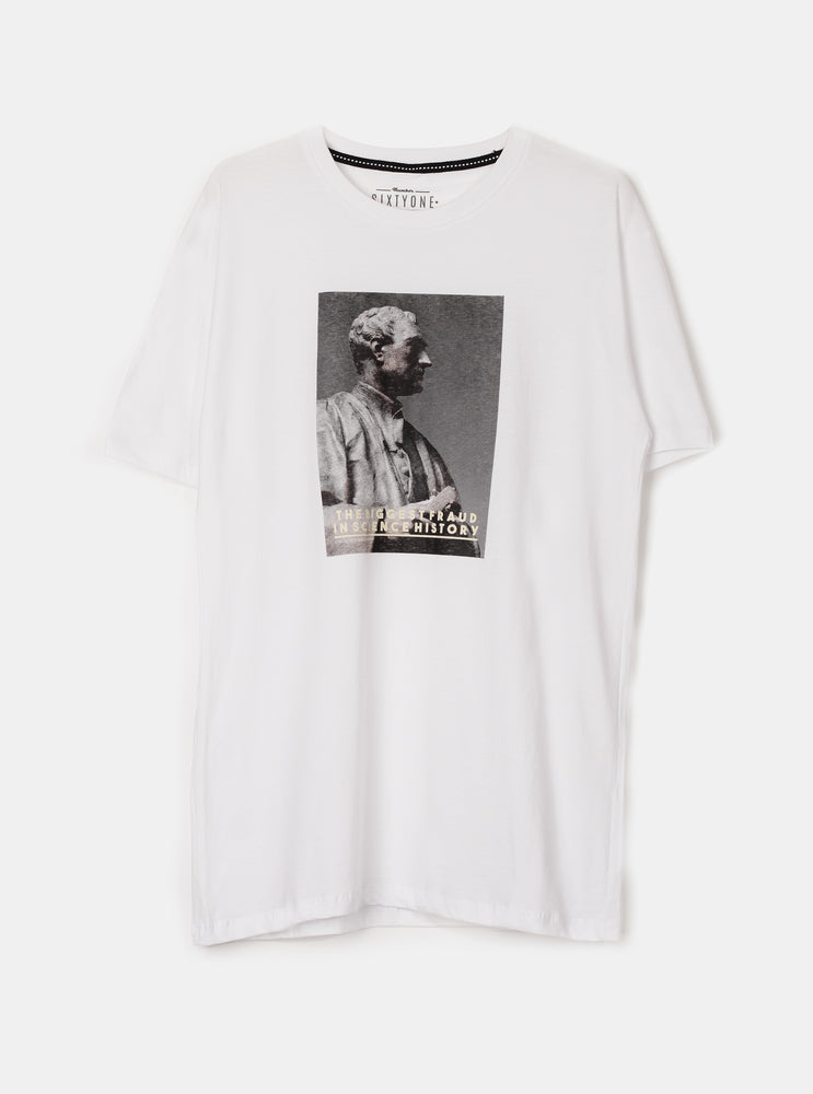 Inscience History in White T-Shirt