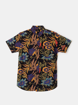 Xan Bird Shirt in Black