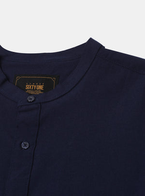 Load image into Gallery viewer, Indalecio Navy Shirt