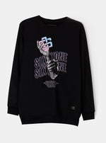 NSO Graphic Black Sweatshirt