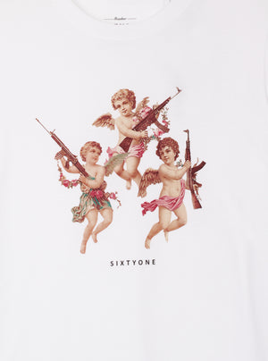 Load image into Gallery viewer, Eos Cupid White T-shirt