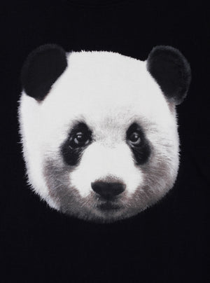 Load image into Gallery viewer, Black Panda T-shirt