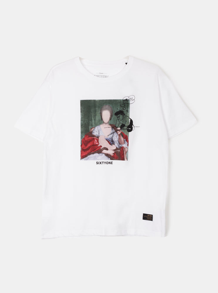 Load image into Gallery viewer, Flower Women T-Shirt Pria
