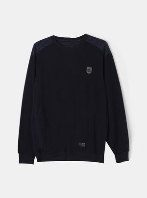 Load image into Gallery viewer, NSO Meno Icon Navy Sweatshirt
