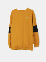 Hope is Never Gone Mustard Sweatshirt