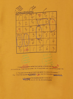 Load image into Gallery viewer, Number 61 - Pullingo Math Mustard Sweatshirt