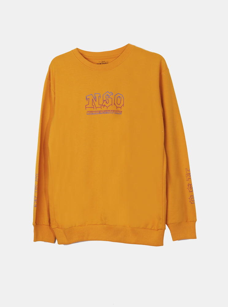 Number 61 - Gamar NSO Logo Yellow Sweatshirt