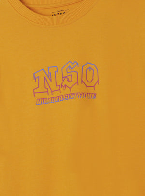 Load image into Gallery viewer, Number 61 - Gamar NSO Logo Yellow Sweatshirt
