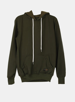 Load image into Gallery viewer, Number 61 - Akshay Olive Hoodie