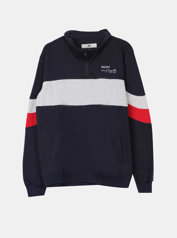 Number 61 - Frid Man Sweatshirt In Navy
