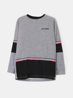 Number 61 - Balia Twotone Light Grey Sweatshirt