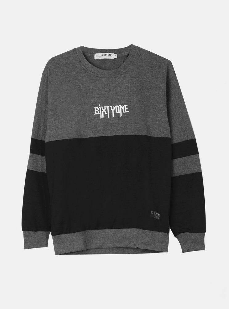 Number 61 - Two tone Mono Sweater