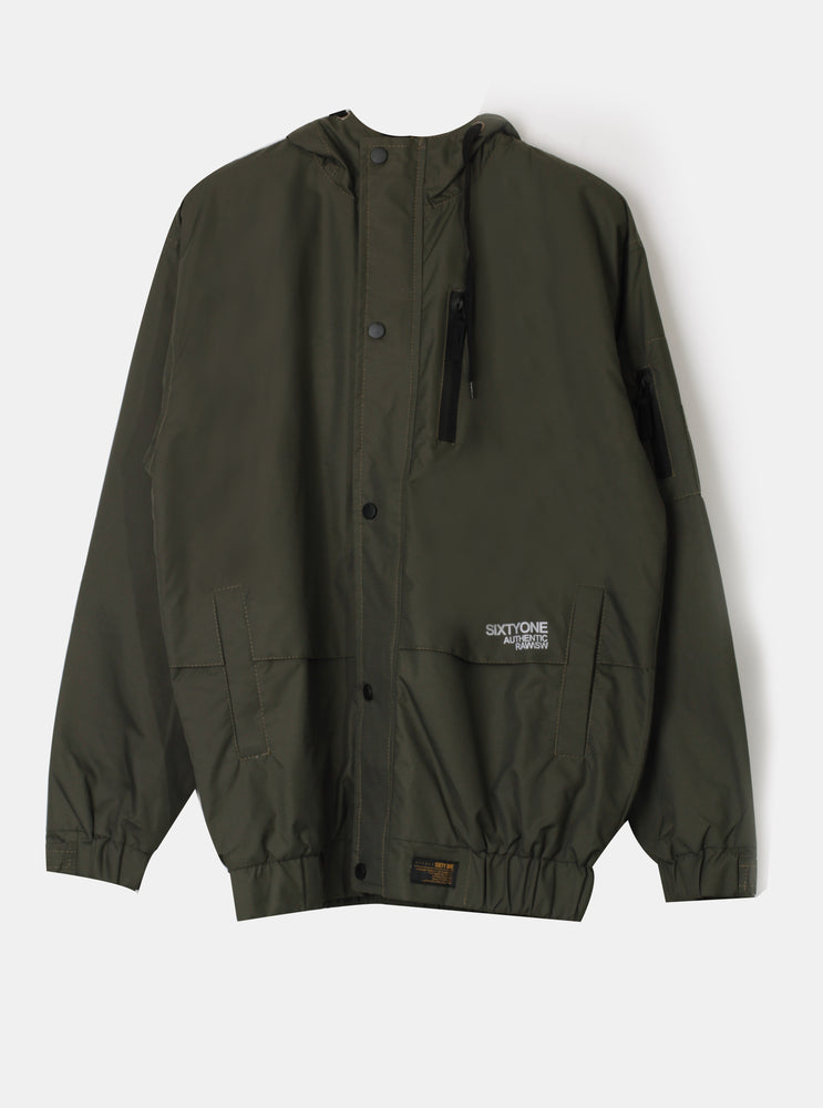 Number 61 - Garamu SxtyOne Jacket In Olive