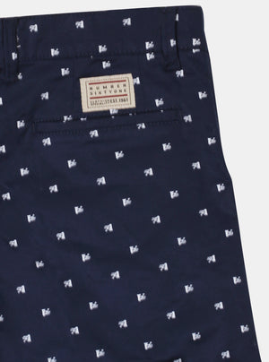 Number 61 -  Carl Navy Short Pants