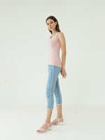 Number 61 - Basic Tank Top Wanita Pink