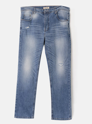 Number 61 - Gelge Blue Denim Jeans