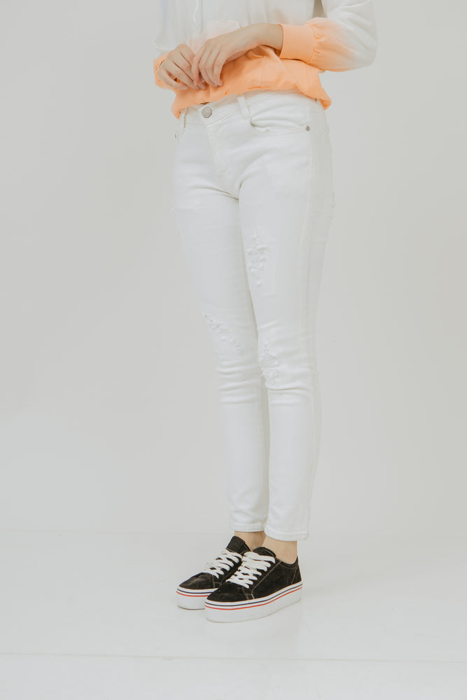 Number 61 - Lily White Jeans