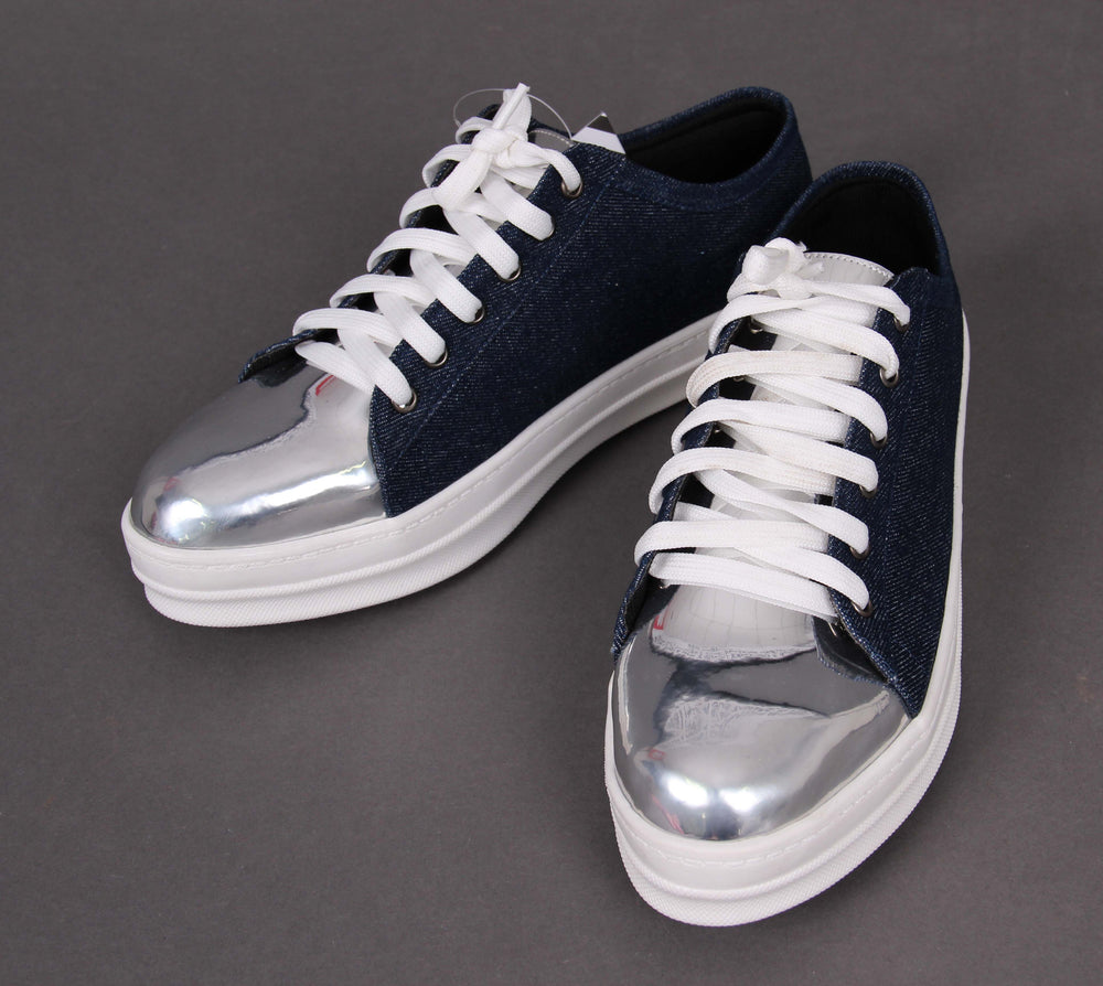 Jenny Navy Denim Sneakers
