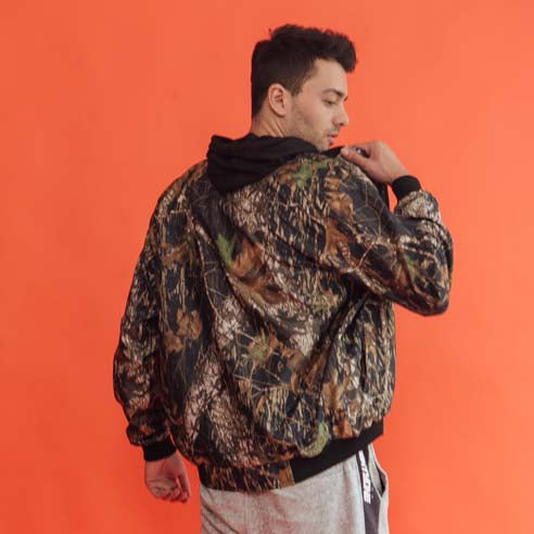 Load image into Gallery viewer, Army Florist Jacket