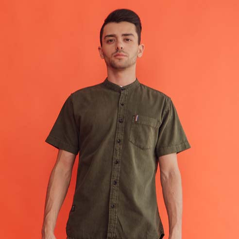 Load image into Gallery viewer, Olive Midi Shirt