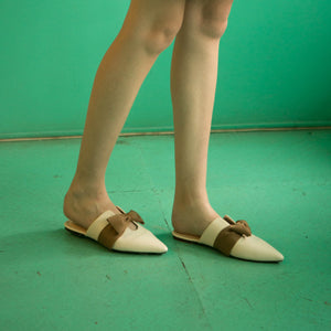 Ribbon Cream Cream Flat