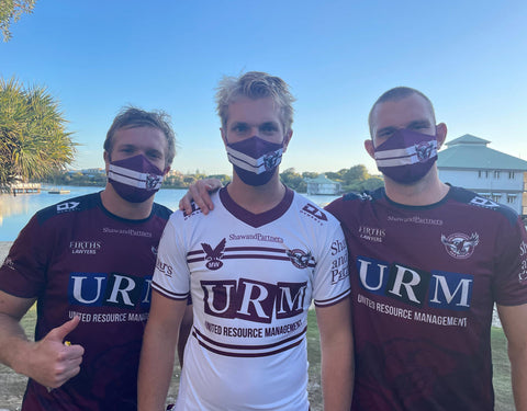 Manly Sea Eagles Face Mask