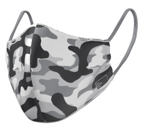 The Mask Life reversible reusable face mask camo print
