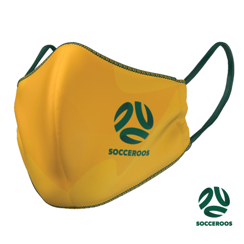 Socceroos Face Mask
