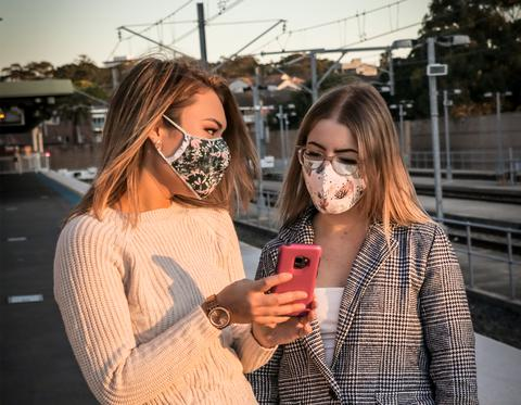 The Mask Life Reversible reusable face masks