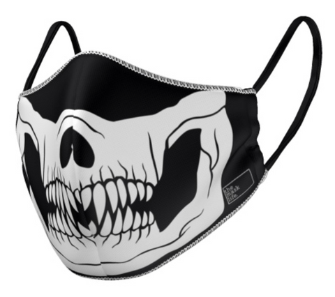 The Mask Life Reversible skeleton face mask