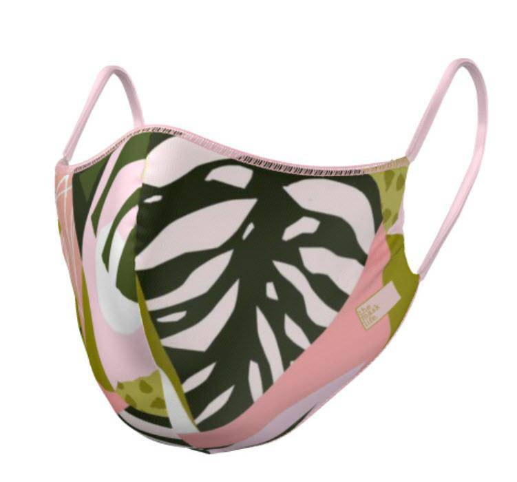 PRE ORDER - The Soft Jungle - Reversible Face Mask - The Mask Life.  Face Masks