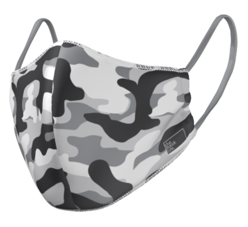 PRE ORDER - The Camo - Reversible Face Mask - The Mask Life.  Face Masks