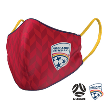 Load image into Gallery viewer, Adelaide United Face Mask - The Mask Life.