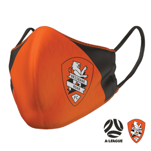 Brisbane Roar Face Mask - The Mask Life.