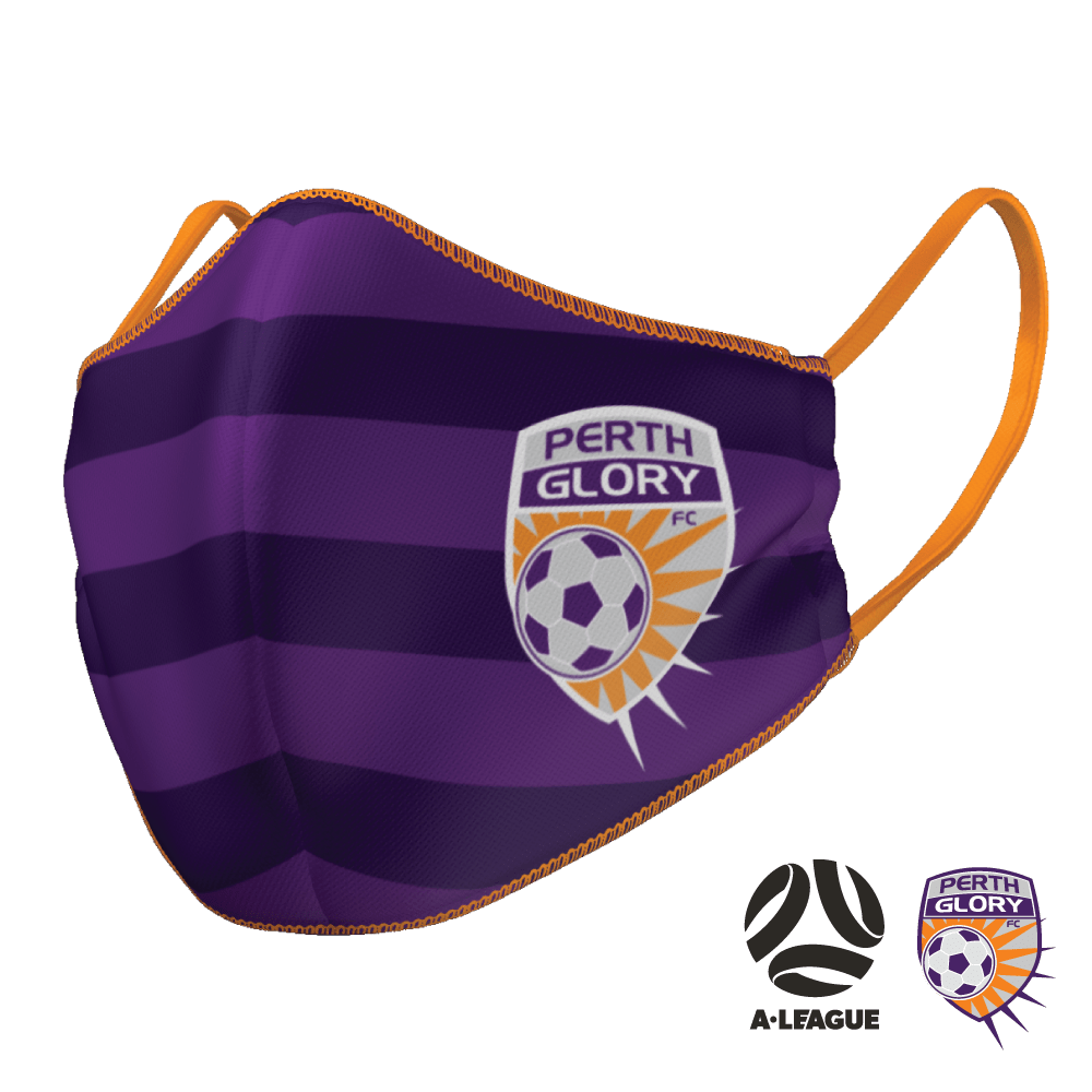 Perth Glory Face Mask - The Mask Life.